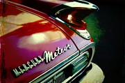 Cars Trucks And Ornaments - Vintage Mercury Meteor by Cathie Tyler