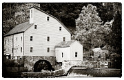 Water Mill Images Prints - Vintage Mill Print by John Rizzuto