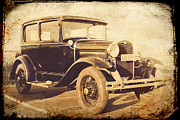 Model A Prints - Vintage Model A Print by Joel Witmeyer