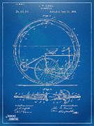 Novelty Posters - Vintage Monocycle Patent Artwork 1894 Poster by Nikki Marie Smith