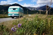 Mountains Art - Vintage Motorhomes by Jason Auch