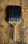 Vintage Paint Brush Print by Jill Battaglia