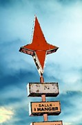 Star Photo Originals - Vintage Pop Art Sign by Sophie Vigneault