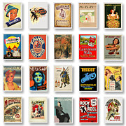 Yellow Line Framed Prints - Vintage Poster Collections 01 Framed Print by Maria Szollosi