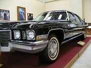 Presidential Photos Metal Prints - Vintage Presidential Limousine Metal Print by Yali Shi
