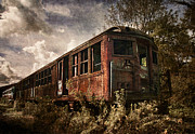 Rail Digital Art - Vintage Rail Car by Dale Kincaid
