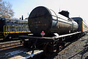 Sacramento Southern Prints - Vintage Railroad Trains In Old Sacramento California . 7D11502 Print by Wingsdomain Art and Photography