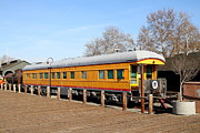 Trains Photos - Vintage Railroad Trains In Old Sacramento California . 7D11508 by Wingsdomain Art and Photography