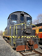 Sacramento Southern Prints - Vintage Railroad Trains In Old Sacramento California . 7D11591 Print by Wingsdomain Art and Photography