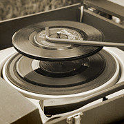 Library Digital Art - Vintage Record Deck by Martin  Fry