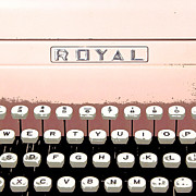 Typewriter Photos - Vintage Royal Typewriter by Glennis Siverson