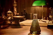 Research Photos - Vintage Science Laboratory by Olivier Le Queinec
