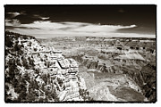 Northern Colorado Prints - Vintage South Rim View Print by John Rizzuto