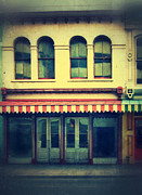 Entrance Shop Front Prints - Vintage Store Fronts Print by Jill Battaglia