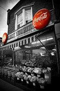 Local Food Photo Posters - Vintage Store Poster by Kamil Swiatek