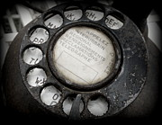 Vintage Photos - Vintage Telephone by Lainie Wrightson