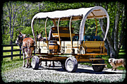 Susan Leggett Metal Prints - Vintage Transportation Metal Print by Susan Leggett