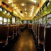 Trolley Photos - Vintage Trolley 7 by Andrew Fare