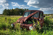 Rusted Cars Photos - Vintage Truck by Matt Dobson