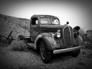 Old Trucks Photos - Vintage truck by Perry Webster