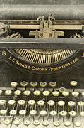 Write Prints - Vintage Typewriter Print by Jill Battaglia