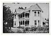 Susan Leggett Metal Prints - Vintage Victorian House Metal Print by Susan Leggett