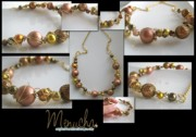 Handcrafted Jewelry - Vintage Vogue by Menucha Citron