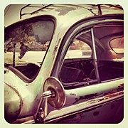 Dash Board Art - Vintage VW by Gwyn Newcombe