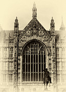 Westminster Palace Photos - Vintage Westminster Palace by John Rizzuto