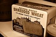 Vintage Wheat Print by David Lee Thompson
