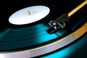 Featured Prints - Vinyl Record Print by Carlos Caetano