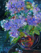 Sheila Golden - Violet Bouquet