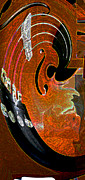 Violin Digital Art - Violin 5 by Day Williams