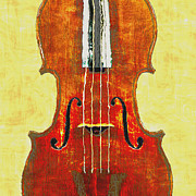 Violin Digital Art - Violin Close-Up by Vicki Podesta