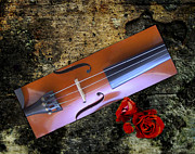 Violin Digital Art - Violin by Debra Kelday
