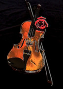 Cards Digital Art - Violin Extreme by Marsha Heiken