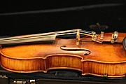 Violin Art - Violin by Linda Russell