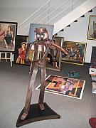Violin Sculpture Originals - Violin Man by Marko Martinez