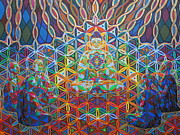 Sacred Digital Art Originals - Vipassana - 2012 by Markus  Meier