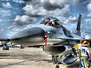 F-16 Fighting Falcon Framed Prints - Viper HDR Framed Print by Arthur Herold Jr