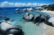 Virgin Gorda Island Art - Virgin Gorda Beach by Larry Dale Gordon - Printscapes