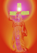 Madre Di Dio Posters - Virgin Mary No. 01 Poster by Ramon Labusch