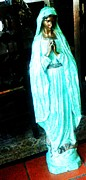 Mexico Sculptures - Virgin Mary by Unique Consignment