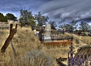Virginia Cemetary Photo Posters - Virginia City Cemetary Poster by Dianne Phelps