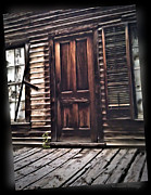Susan Kinney Prints - Virginia City Ghost Town Door I Print by Susan Kinney