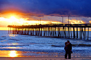 Beach Photography Originals - Virginia Is for lovers by Christopher  Ward