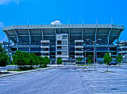 Hokie Prints - Virginia Tech - Lane Stadium Print by Andrew Webb