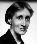 British Portraits Framed Prints - Virginia Woolf, British Author, 1934 Framed Print by Everett