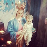 Religious Art - #virginmary #holy #religious #mother by Caitriona Mccafferty