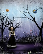 Goth Girl Digital Art - Virgo by Charlene Zatloukal